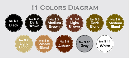 11 Colors Diagram